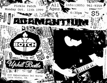 Botch-Adamantium-Uphill Battle @ Pickle Patch Isla Vista CA 10-11-99