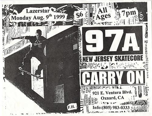 97a-Carry On @ Lazerstar Oxnard CA 8-9-99