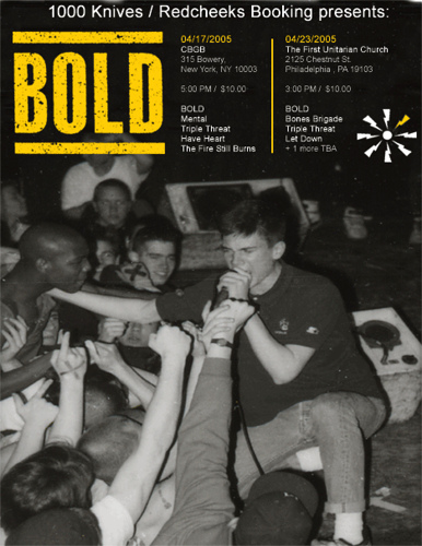 Two Bold Reunion Shows 2005