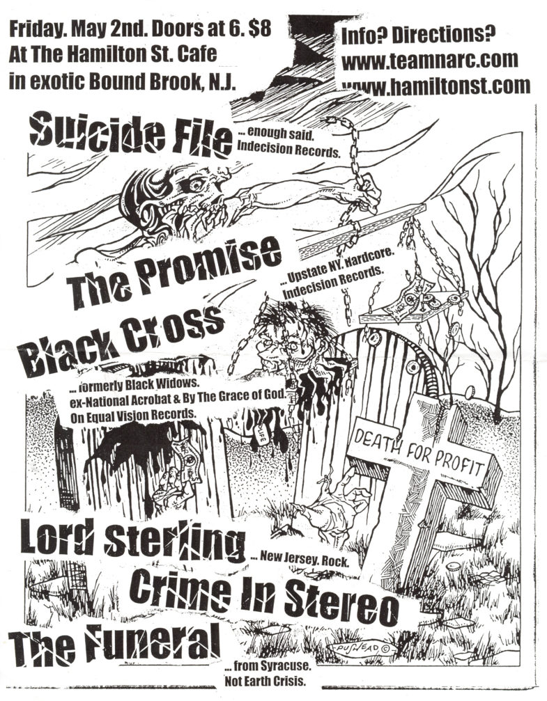 The Suicide File-The Promise-Lord Sterling-Black Cross-Etc @ Hamilton St. Cafe Bound Brook NJ 5-2-03