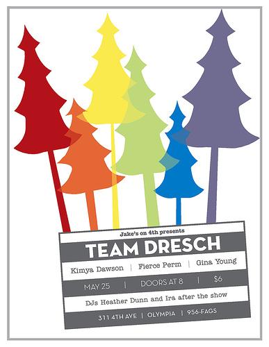 Team Dresch-Kimya Dawson-Fierce Perm-Gina Young @ Jake's Olympia WA 5-25-06