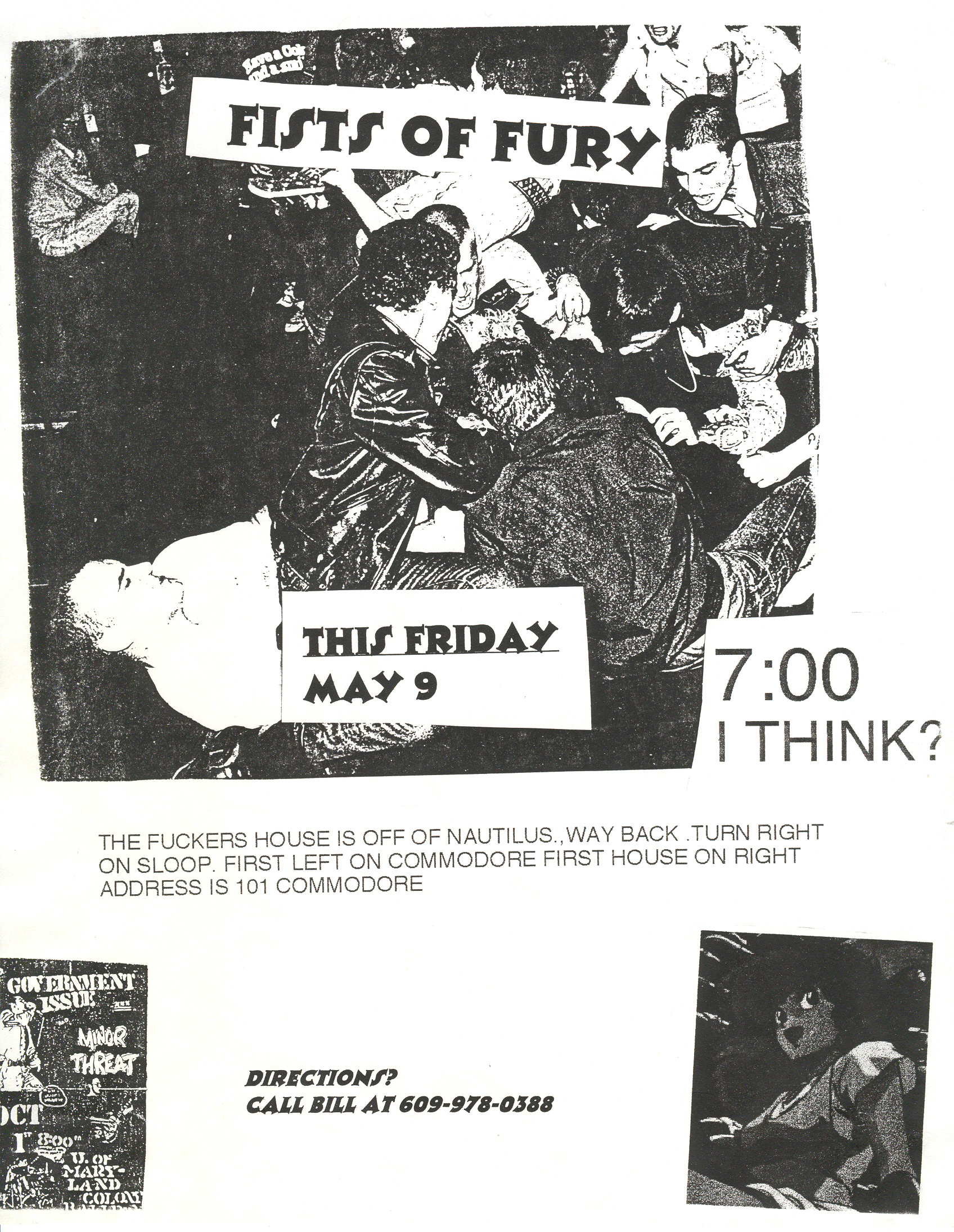 Fists Of Fury @ House Show Manahawkin NJ 5-9-97