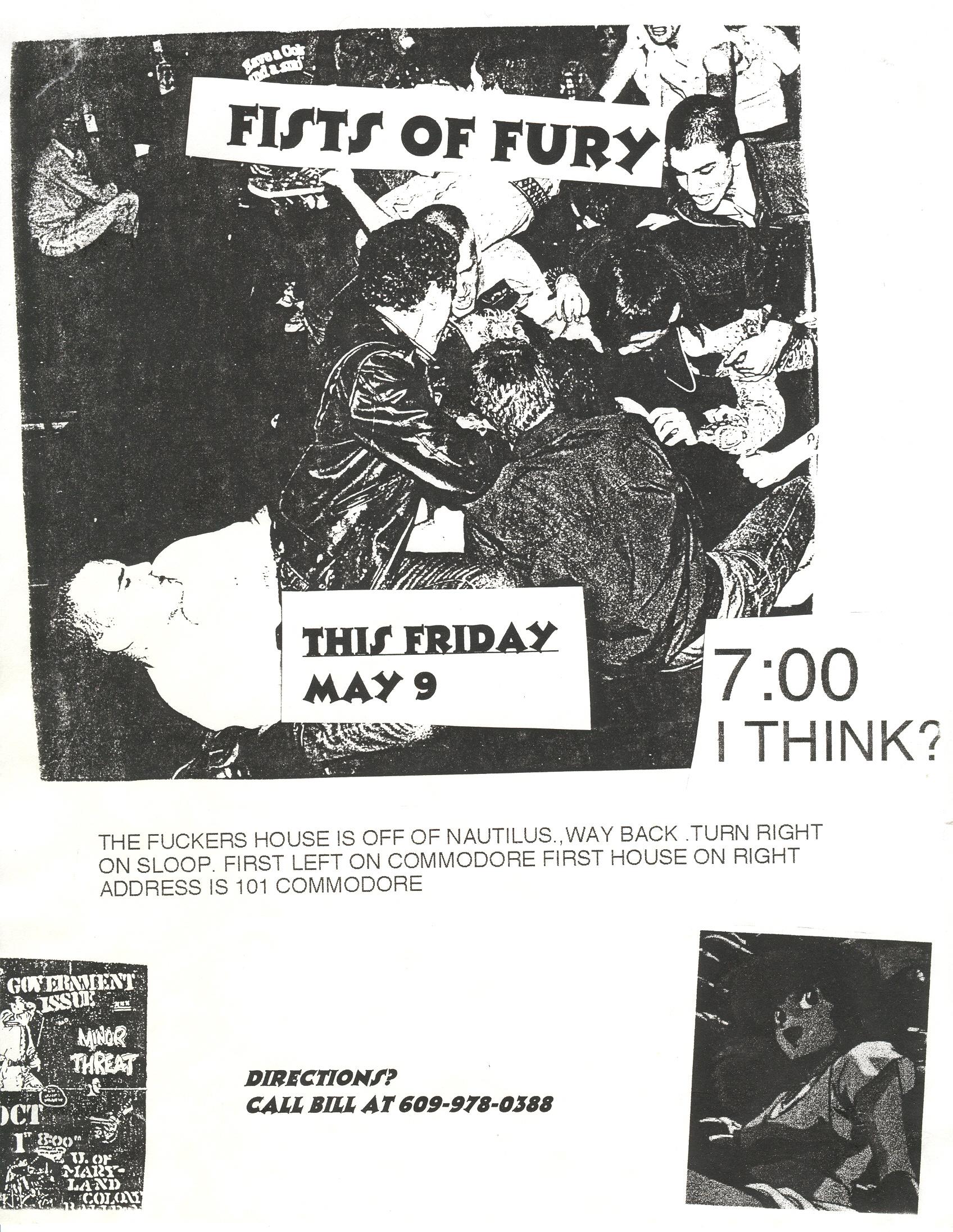Fists Of Fury @ House Show Manahawkin NJ 5-9-97