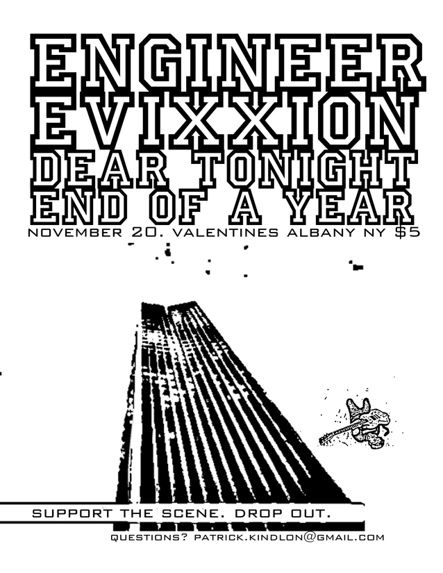 End Of A Year-Engineer-Evixxion-Dear Tonight @ Valentines Albany NY 11-20-05