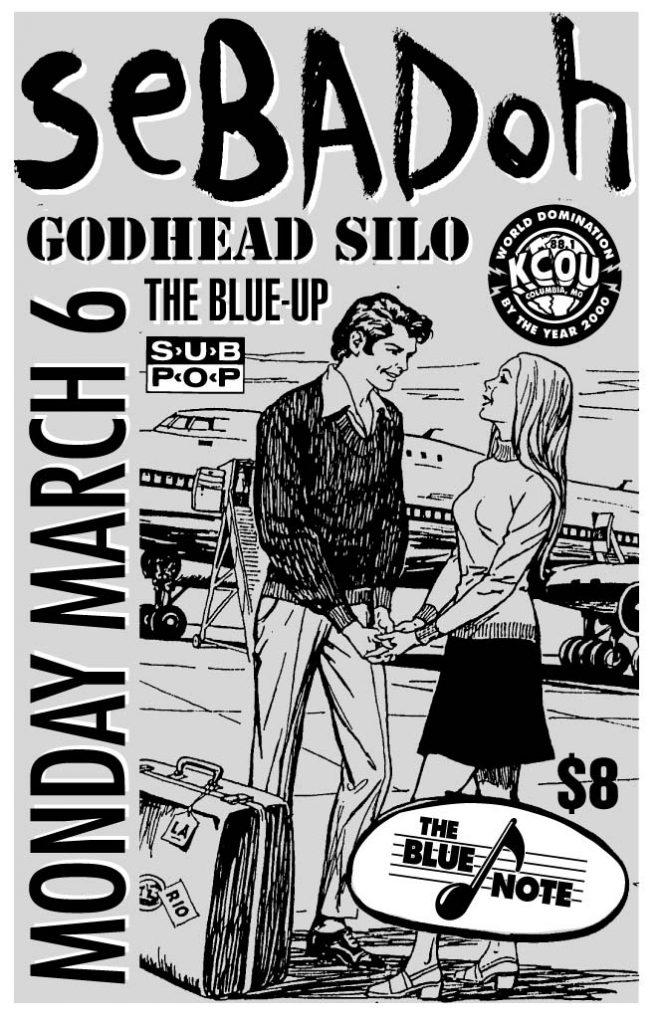 Sebadoh-Godhead Siloh-The Blue-Up @ The Blue Note Columbia MO 3-6-95