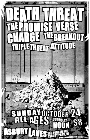 Death Threat-The Promise-Verse-Charge-The Breakout-Attitude-Triple Threat @ Asbury Lanes Asbury Park NJ 10-24-04