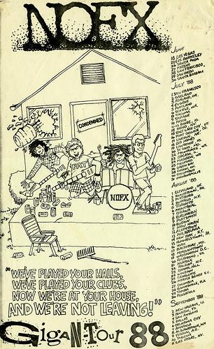NOFX 1988 Tour