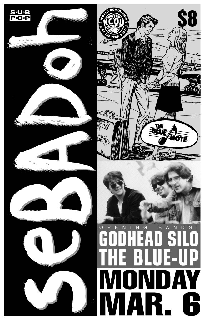 Sebadoh-God Head Silo-The Blue Up @ The Blue Note Columbia MO 3-6-95