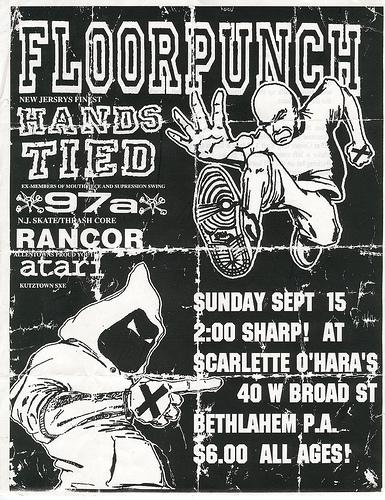 Floorpunch-Hands Tied-97a-Rancor-Atari @ Scarlette O'Hara's Bethlehem PA 9-15-96