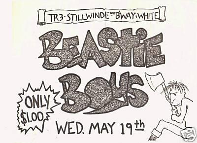 Beastie Boys @ Tier 3 New York City NY 5-19-82
