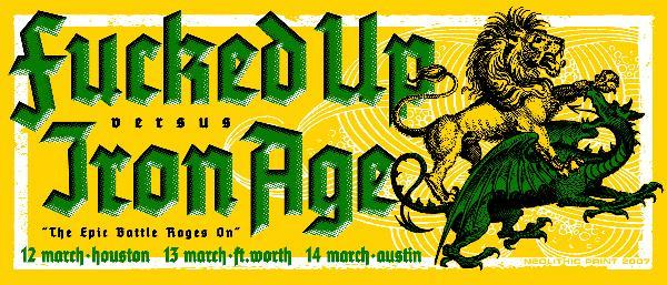 Fucked Up & Iron Age Team Up In Texas