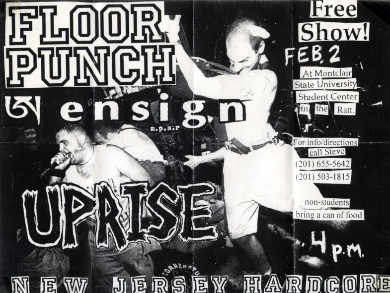 Floorpunch-Uprise-Ensign @ Montclair State University Montclair NJ 2-2-97