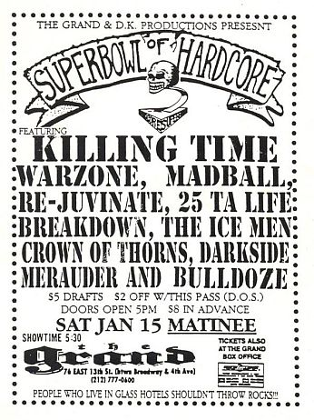 Superbowl Of Hardcore 1-15-94