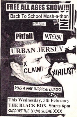 Pitfall-Intern-Urban Jersey-Nihilist-XClaim! @ The Black Box Melbourne Australia 2-5-97