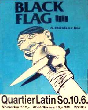 Black Flag-Husker Du @ Quartier Latin Berlin Germany 6-10-84
