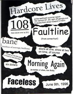 108-Bane-Faultline-Morning Again-Faceless @ Earthwell Summer Space Washington DC 6-9-96