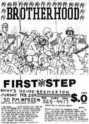 Brotherhood-First Step @ Bremerton WA 2-29-89