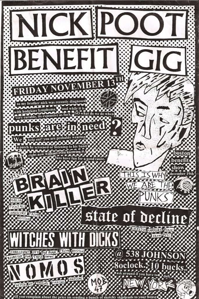 Brain Killer-Witches With Dicks-Nomos-State Of Decline @ 538 Johnson Brooklyn NY 11-13-09