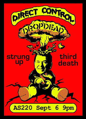 Direct Control-DropDead-Third Death-Strung Up @ AS220 Providence RI 9-6-06