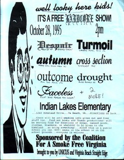 Despair-Turmoil-Autumn-Cross Section-Drought-Outcome-Faceless @ Indian Lakes Elementary Virginia Beach VA 10-28-95