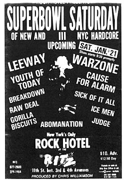 Superbowl of Hardcore III 1-21-89