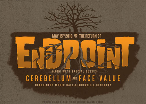 Endpoint-Cerebellum-Face Value @ Headliners Music Hall Louisville KY 5-15-10
