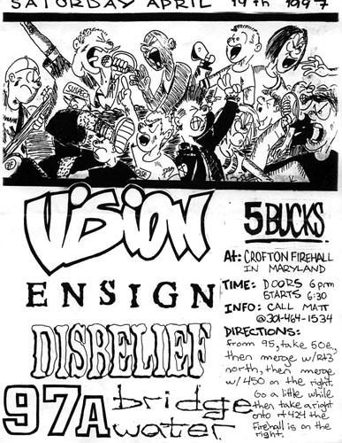Vision-Ensign-Disbelief-97a-Bridgewater @ Crofton Firehall Crofton MD 4-19-97