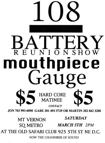 108-Battery-Mouthpiece-Gauge @ Chamber of Sound Washington DC 3-5-94