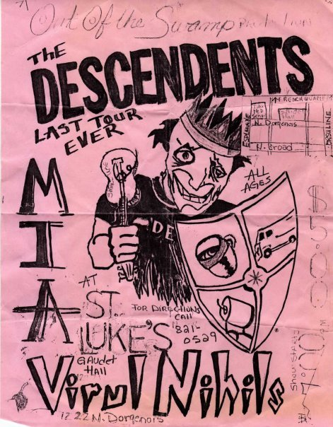 Descendents-MIA @ St. Lukes New Orleans LA 6-11-87
