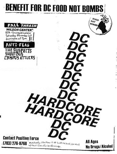Anti Flag-The Suspects-Shout Bus-Crispus Attucks @ Wilson Center Washington DC 11-1-97