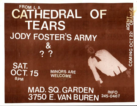 Cathedral of Tears-JFA @ Madison Square Garden Phoenix AZ 10-15-83
