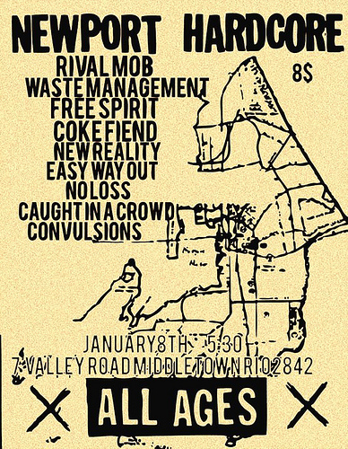 The Rival Mob-Waste Management-Free Spirit-Coke Fiend-New Reality-Easy Way Out-No Loss-Caught In A Crowd- Convulsions @ Middletown RI 1-8-11