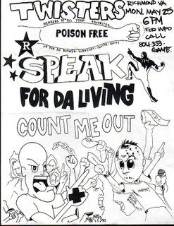 Speak 714-Count Me Out-For The Living @ Twisters Richmond VA 5-25-98
