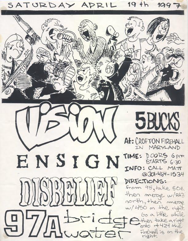 Vision-Ensign-97a-Disbelief-Bridgewater @ Crofton Firehall Crofton MD 4-19-97