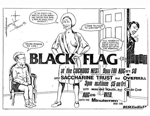 Black Flag August 1981