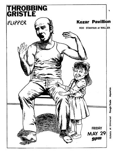 Flipper-Throbbing Gristle @ Kezar Pavillion San Francisco CA 5-29-81