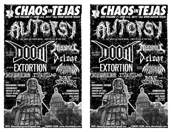 Chaos In Tejas 2011