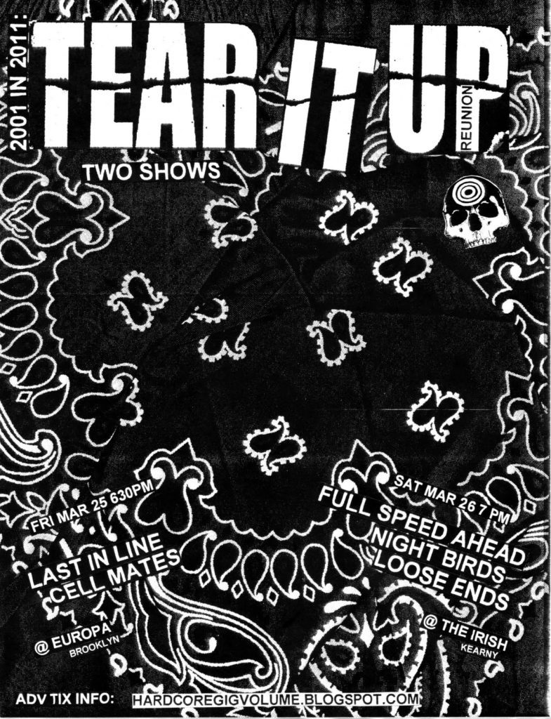 Tear It Up 2011 Reunions