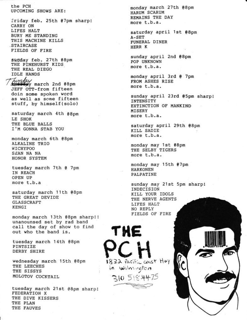PCH Spring 2000
