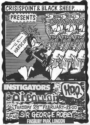 Instigators-Oi Polloi @ Sir George Robey London England 2-28-89