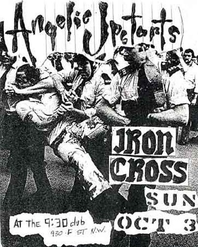 Angelic Upstarts-Iron Cross @ 930 Club Washington DC 10-3-82