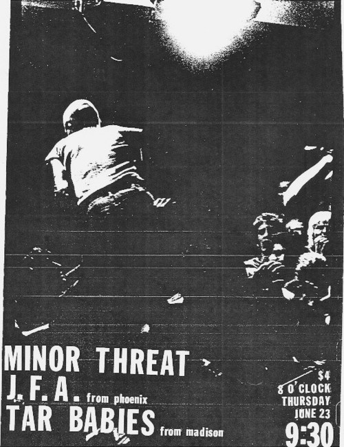 Minor Threat-JFA-Tar Babies 6-23-83