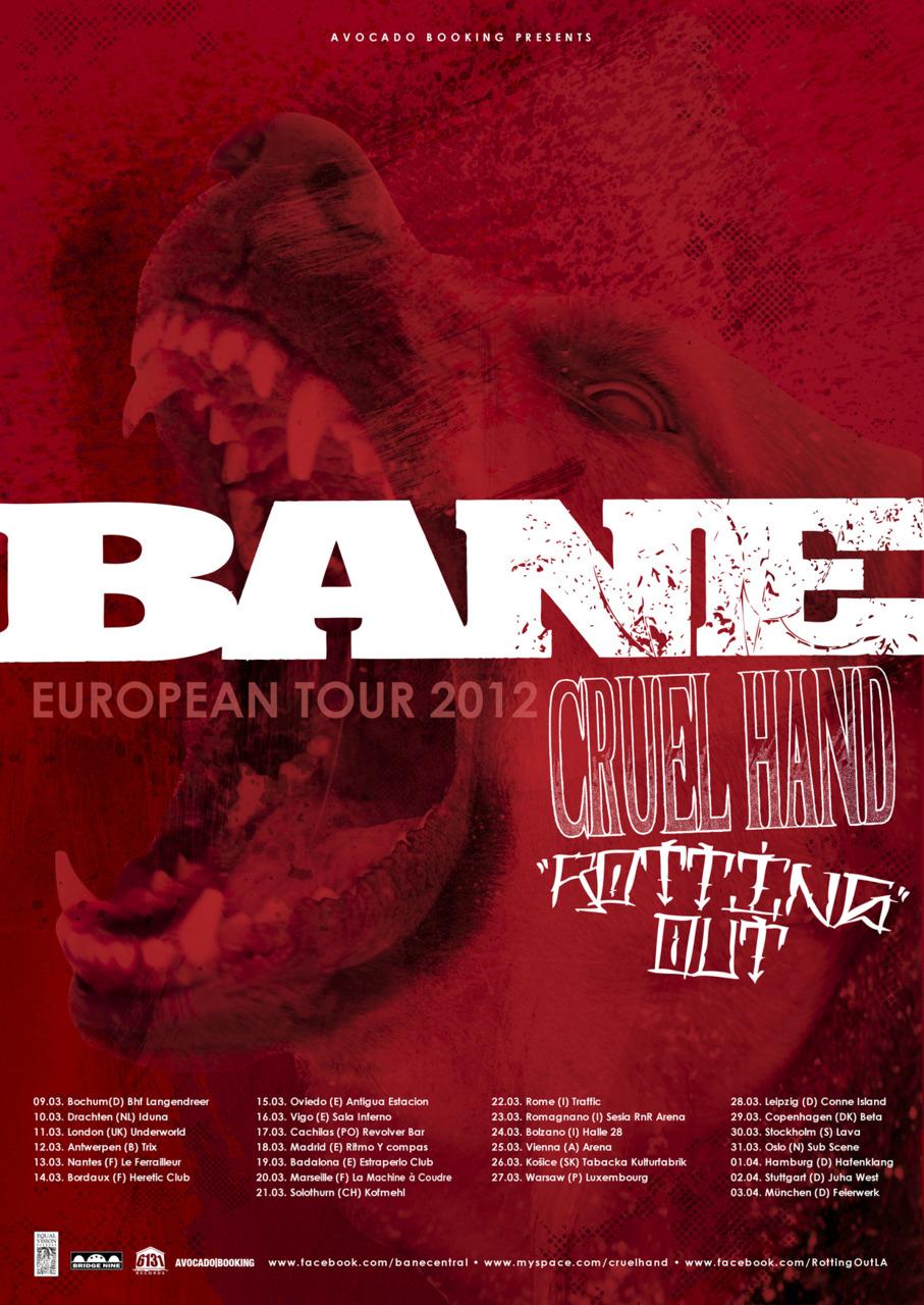 Bane European Tour 2012