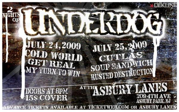 Underdog July 2009