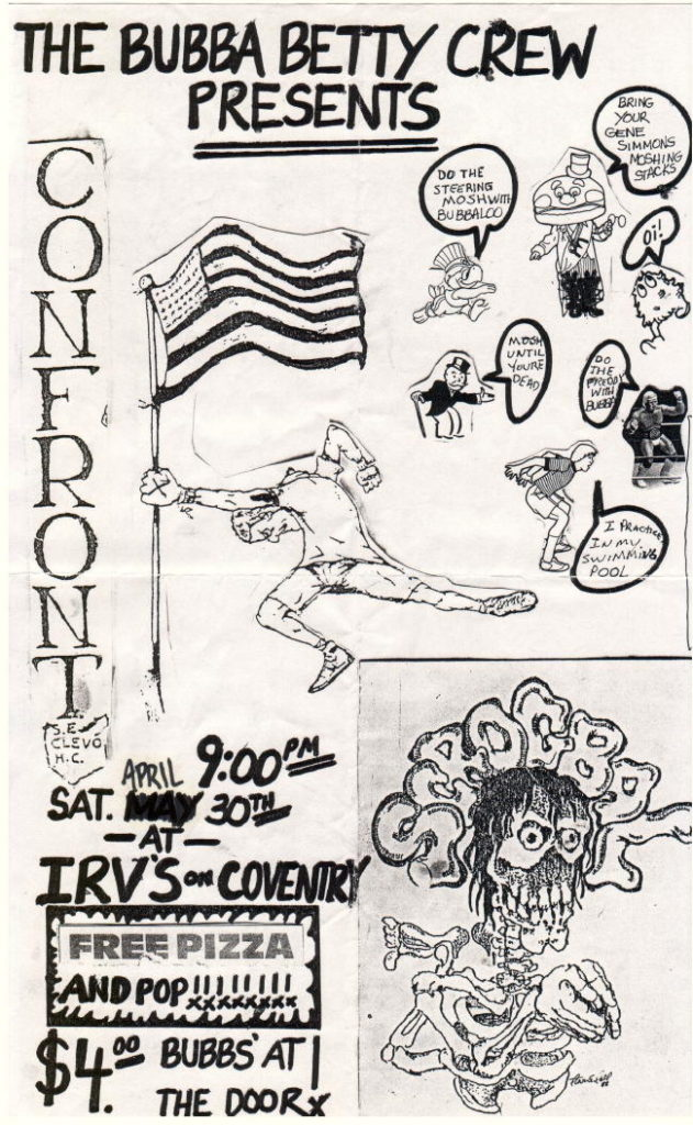Confront @ Irv's Cleveland OH 4-30-88