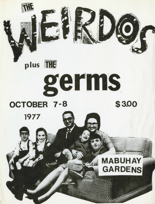 The Weirdos-The Germs @ Mabuhay Gardens October 1977