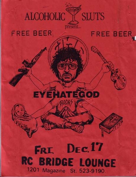 Eyehategod @ RC Bridge Lounge New Orleans LA 12-17-93