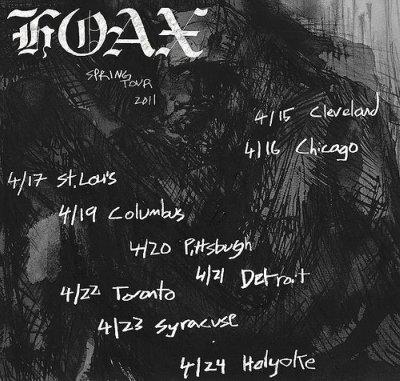 Hoax Spring Tour 2011