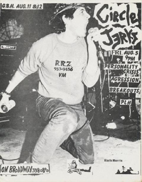 Circle Jerks-Personality Crisis-Aggression-Breakouts-PLH @ On Broadway San Francisco CA 8-5-83