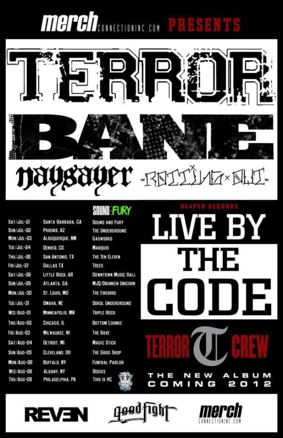Terror-Bane-Naysayer-Rotting Out Tour 2012